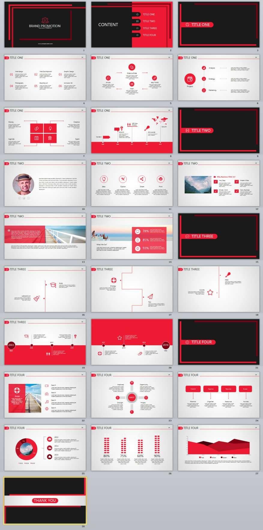 28 best brand powerpoint template powerpoint 2018 templates