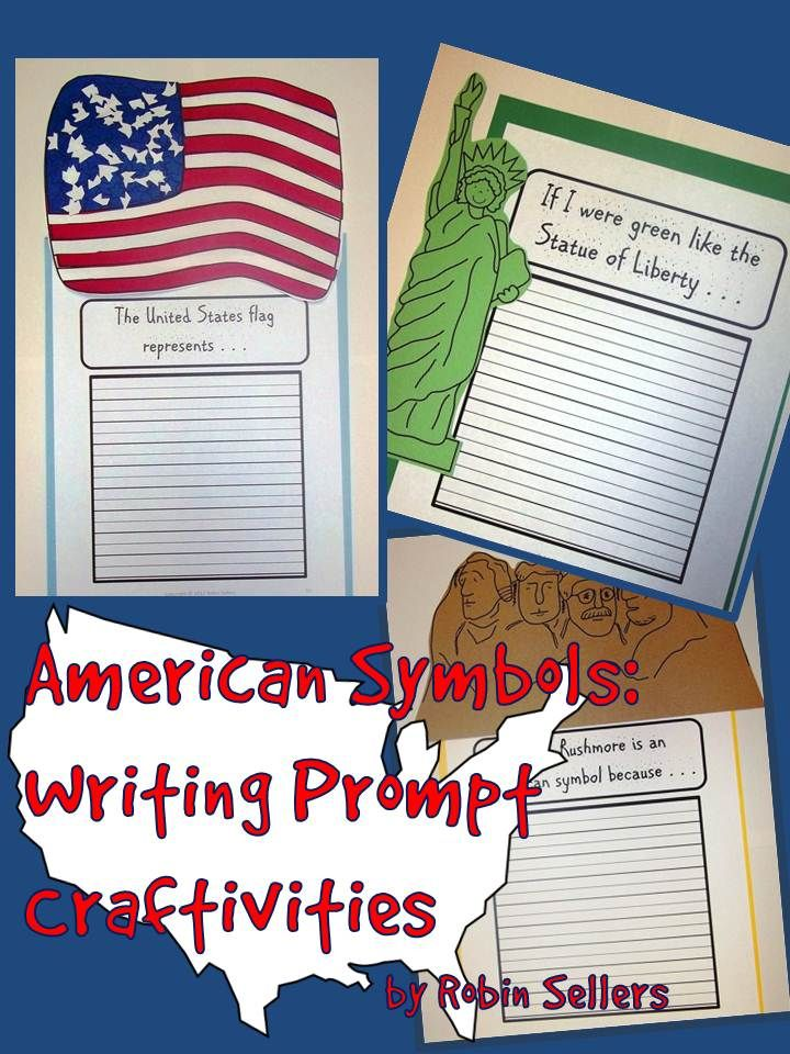 Sweet Tea Classroom: American Symbols for Kids Craftivities