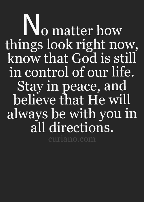 Quotes About God Being In Control : quotes, about, being, control, Inspirational, Quotes