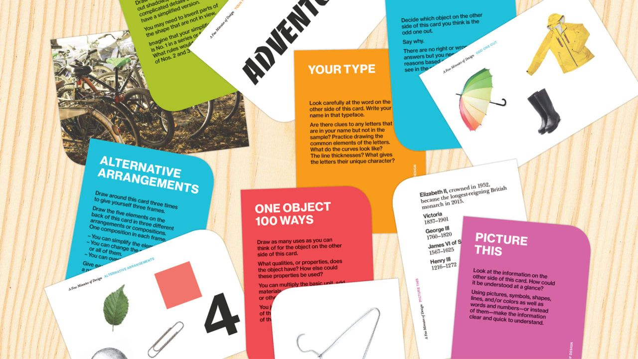 Want To Think Like A Designer Try These 4 Simple Exercises Learning Design Design Easy Workouts
