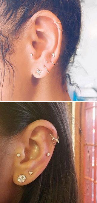 Why women are queuing up to get a constellation piercing right now... #constellationpiercing