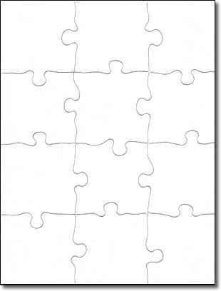 Blank Jigsaw Puzzle 8 1 2 X 11 12 Piece Laser Ideas Jigsaw