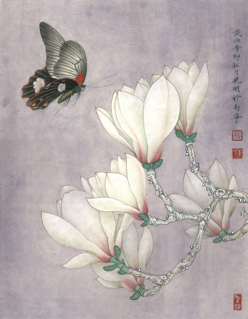 Pin By Amy P On 工笔画 Peony Painting Watercolor Flowers Paintings Chinese Art Painting