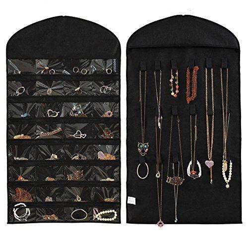 DIY Tulle Frame Jewelry Holder Hanging jewelry organizer Hanging