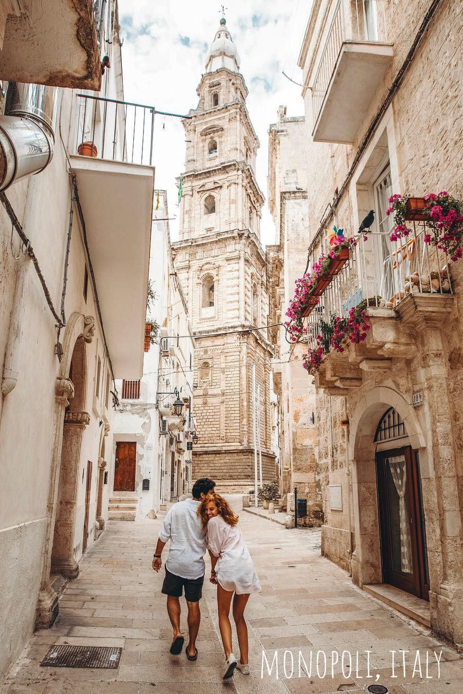 Monopoli Italy Monopoli Is A Town And Municipality In Italy In The Province Of Bari And Region Of A Travel Pose Couples Travel Pictures Couple Travel Photos