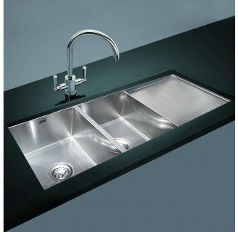 Image result for double bowl with drainer kitchen sink undermount ...