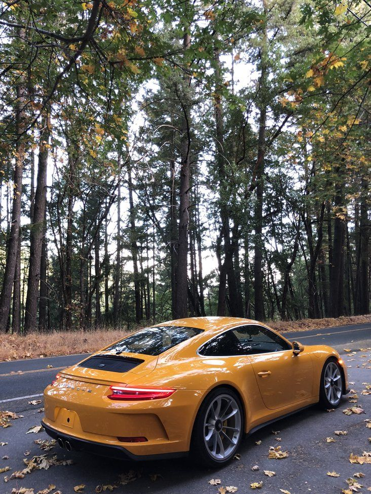 PTS GT3 Touring For Sale * Bay Area * Signal Yellow