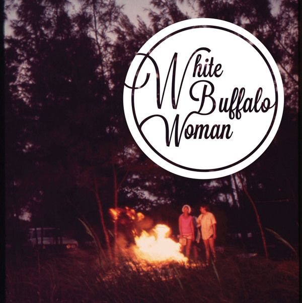 White Buffalo Woman EP Cover by Arielle Winchester, via Behance