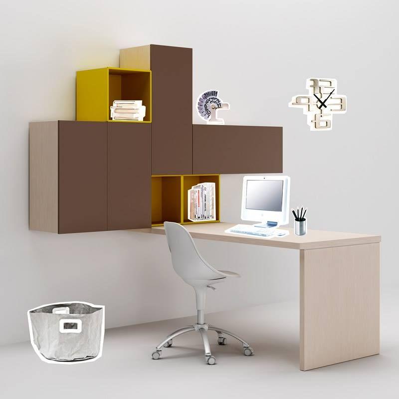 Camerette Moretti Compact #scrivania #arredamento #casa #scuola ...