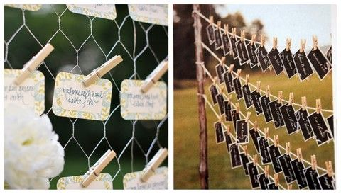 Wedding Receptions 4 Cool Escort Card Ideas For Your Reception