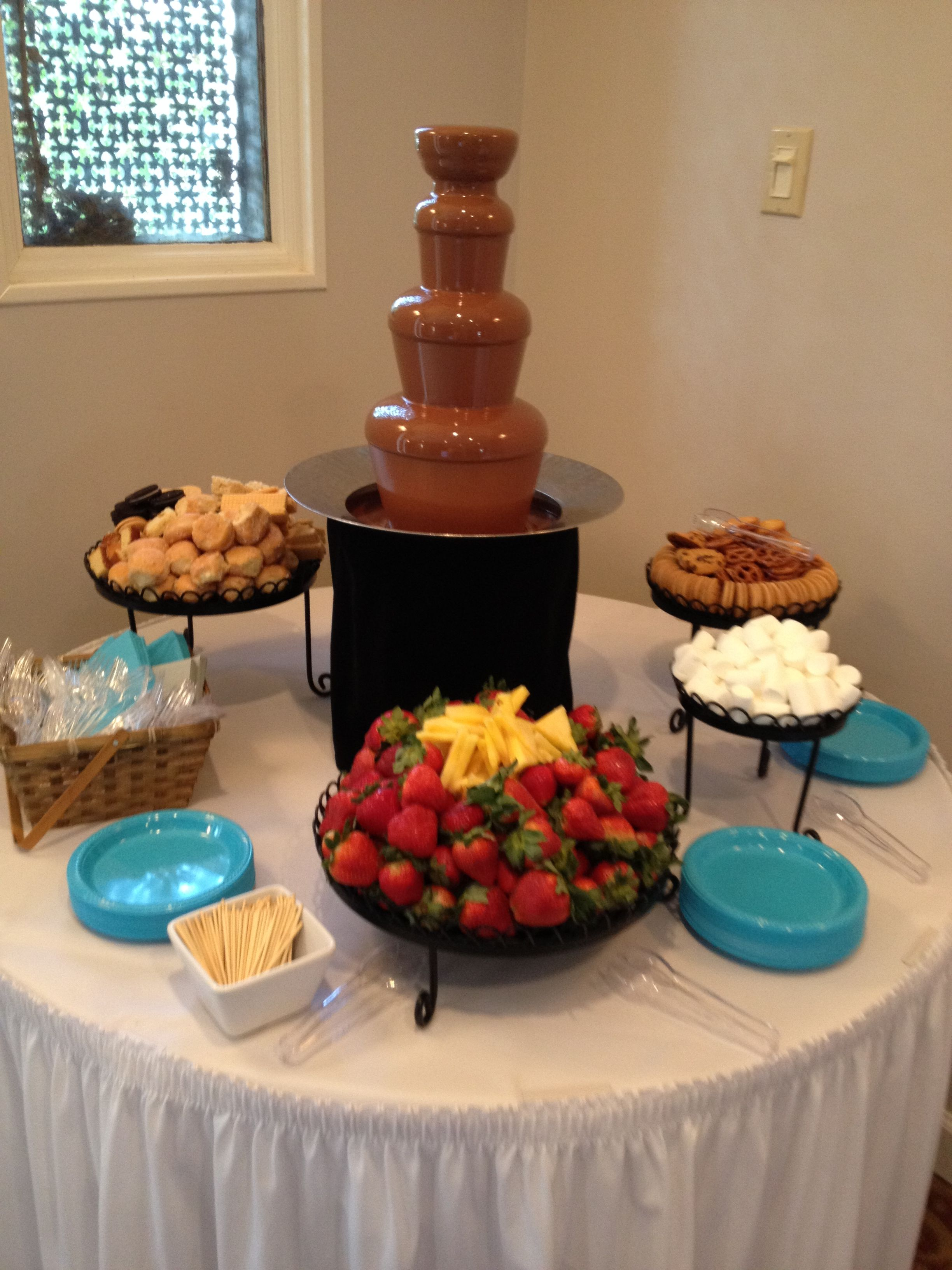 Chocolate Fountain | Lizard's Wedding Ideas | Pinterest ...