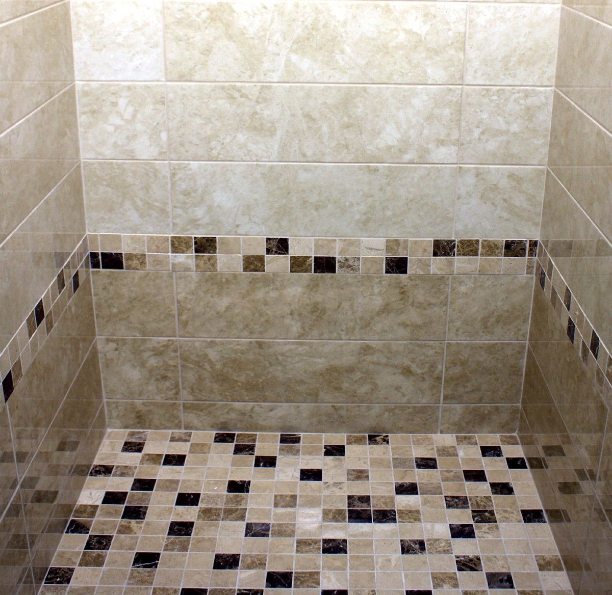 Jadore A Mid Beige Rectangle Shape Marble Effect Ceramic Tile