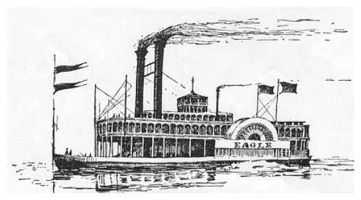 The first steamboat was successfully tested in 1787 by