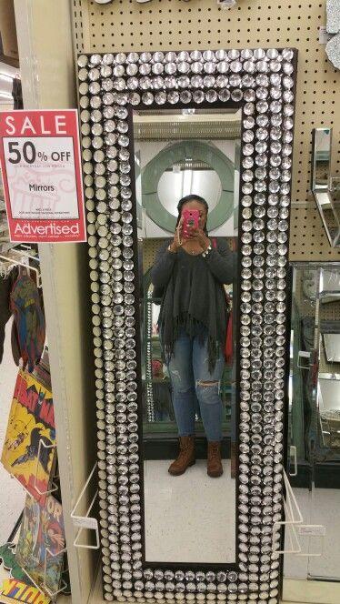 Idea For Diy Bedazzled Mirror Diy Mirror Apartment