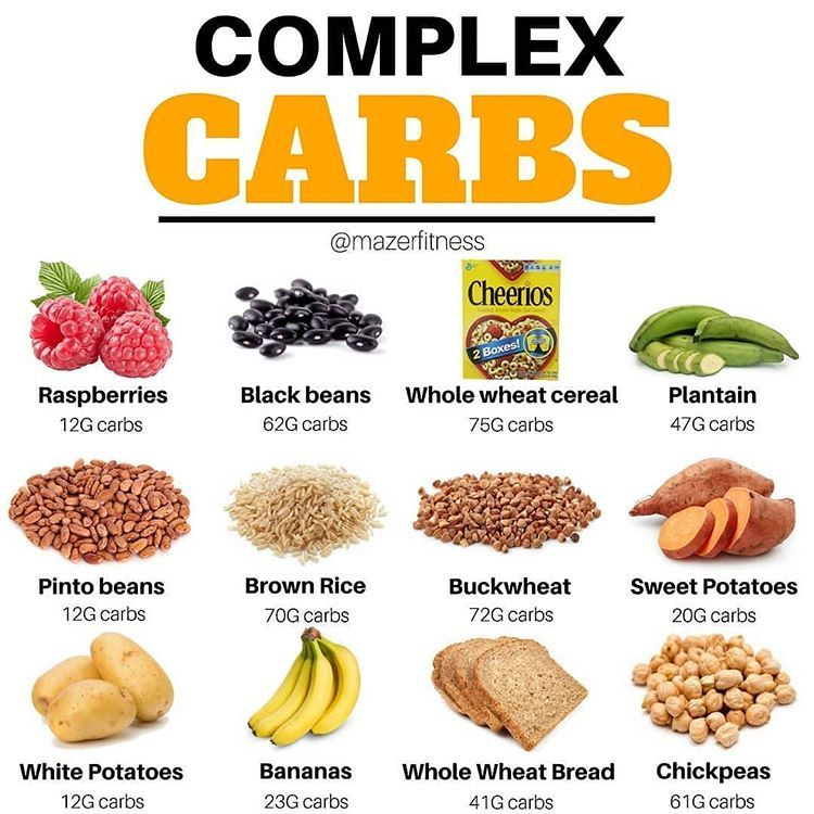 How is it beneficial to prefer complex carbs over simple ...  |Complex Carbs Examples