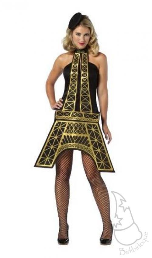 Disfraz original de torre eiffel disfraces verkleden - Disfraces carnaval original ...