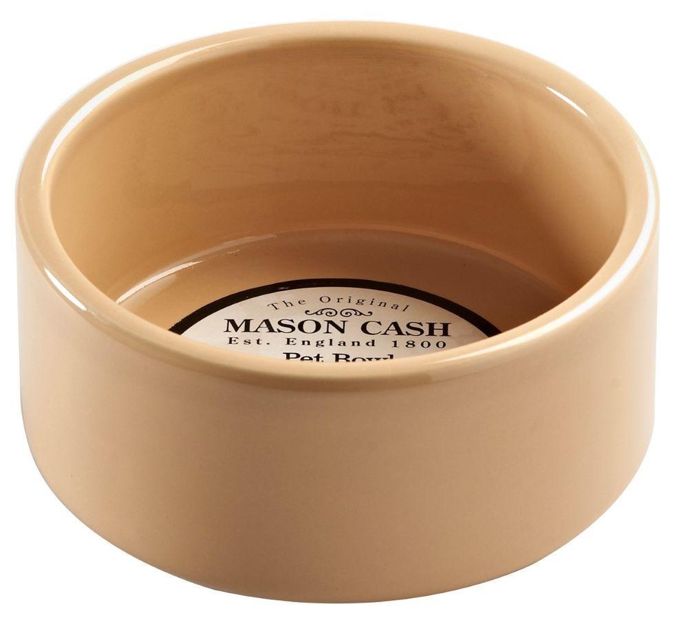 mason cash cane pet bowl stoneware heavyweight for dogs cats pet