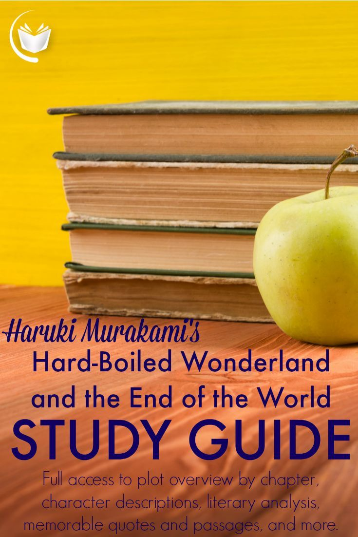 Hard Boiled Wonderland And The End Of The World Study Guide