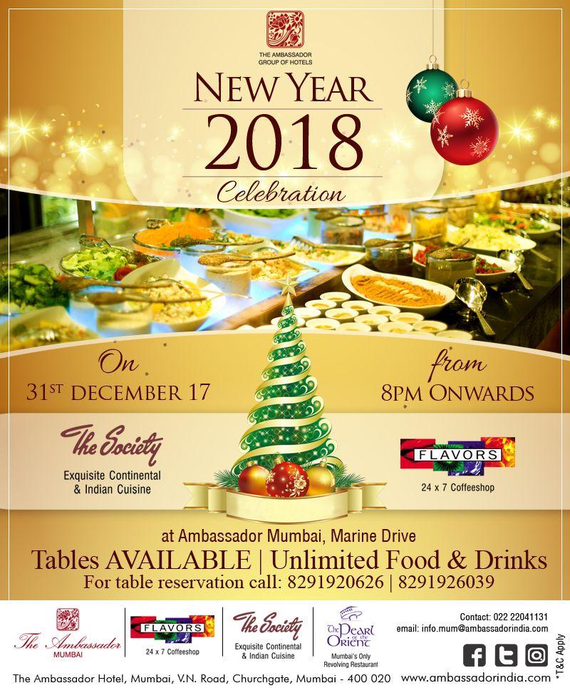 Celebrate New Year Eve Ambassador Groupambassador Ambassadorhotel Mumbai Newyeareve Party Mar Christmas Bulbs Novelty Christmas Christmas Ornaments