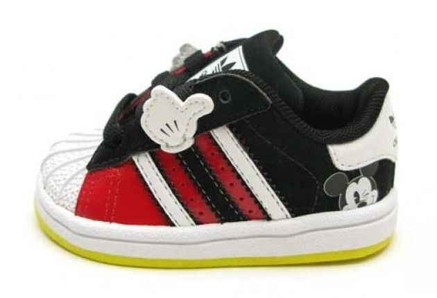 ADIDAS SUPERSTAR X MICKEY MOUSE FOR TODDLERS