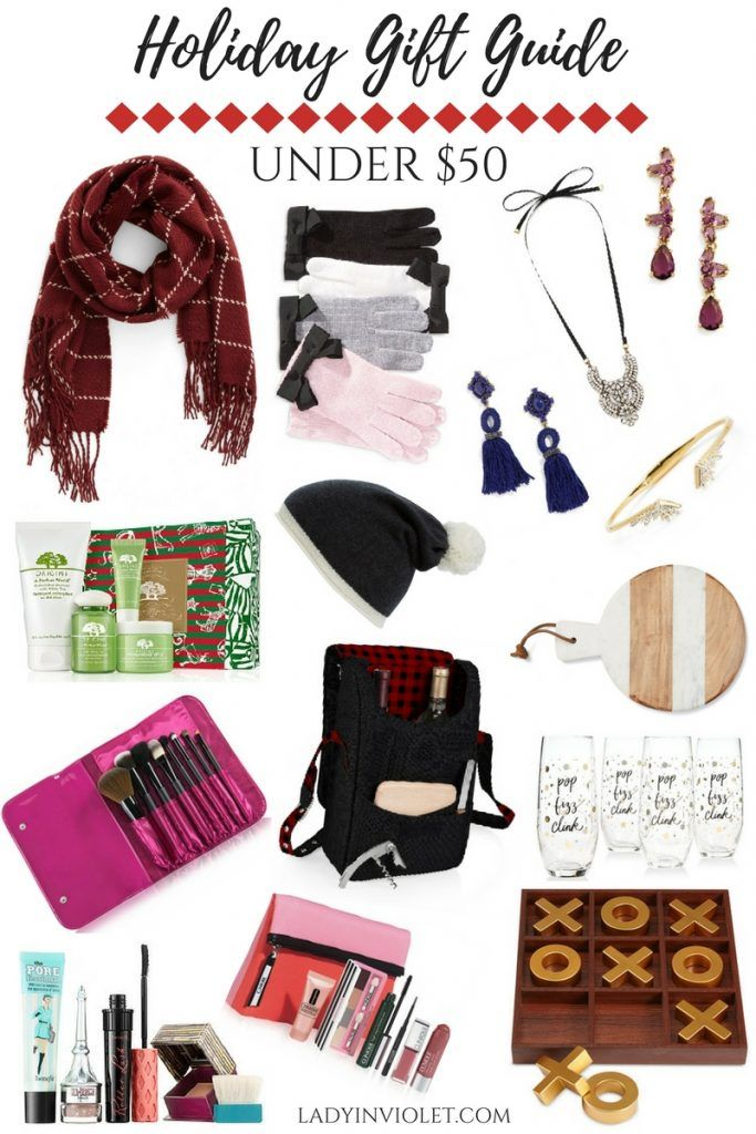 Best Christmas Gifts under 50 dollars - Best Christmas Gifts Under 50 Lady In Violet Pinterest