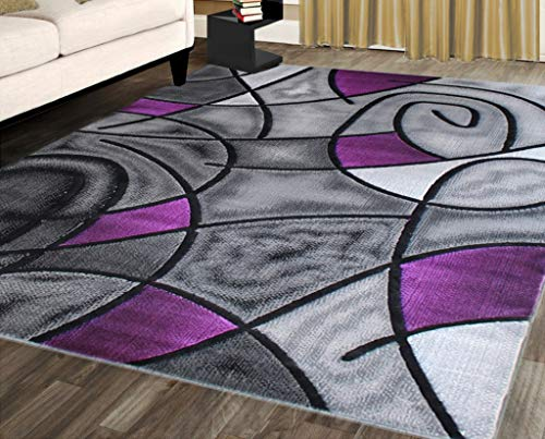 Funky Purple Area Rugs - Pattern or Plain?