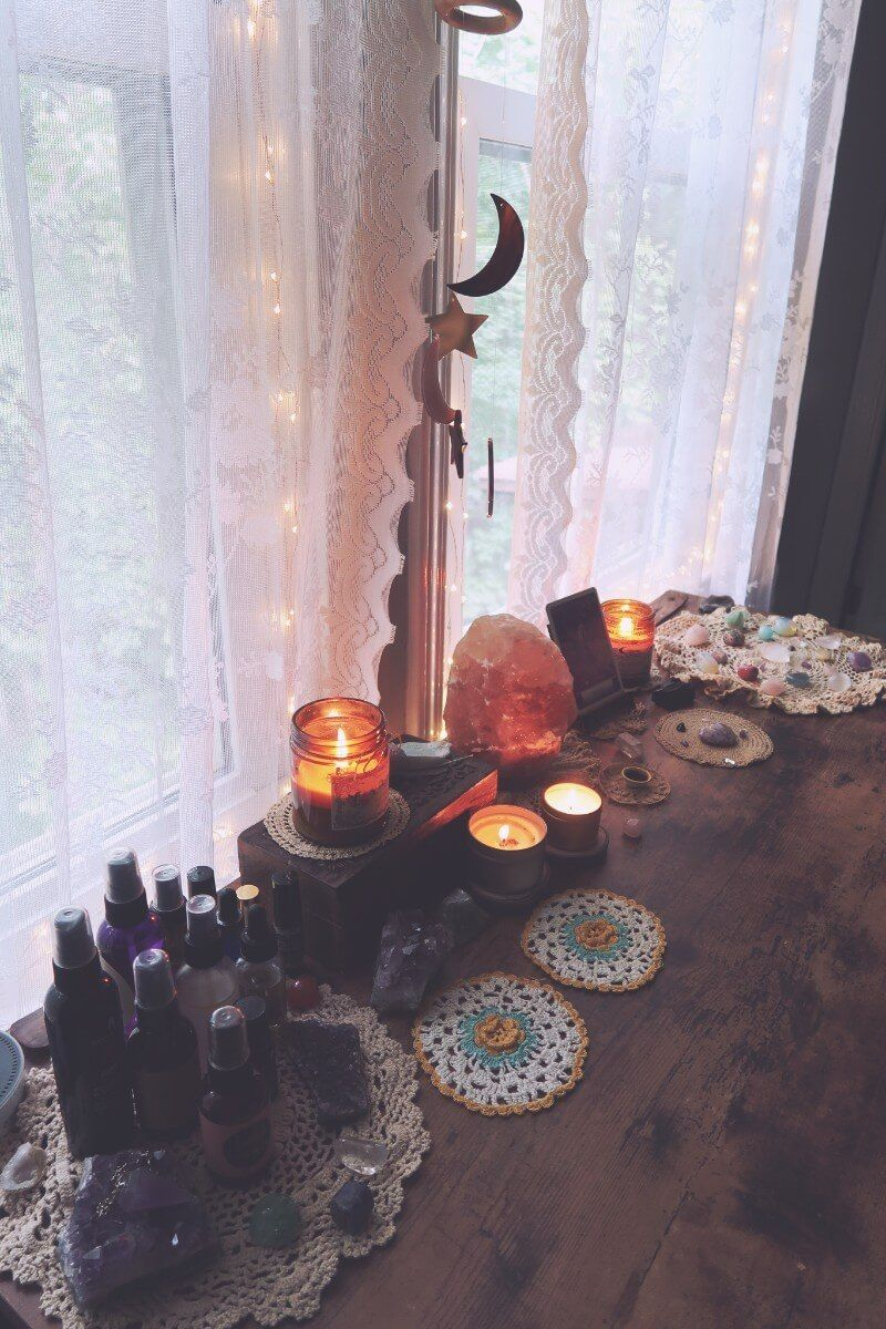 Step-by-step process of setting up my self-care space ...