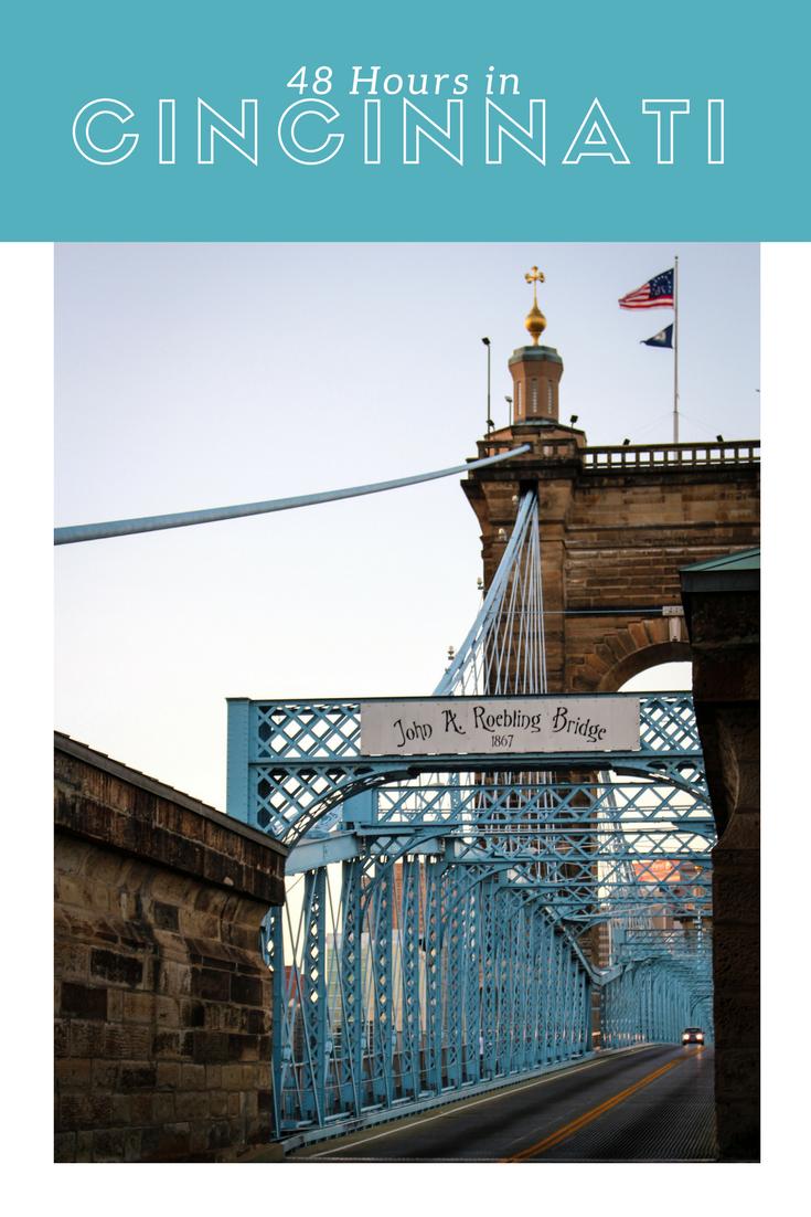 48 Hours in Cincinnati - what to do, see and eat when you visit   #cincinnati   #ohio   #visitcincinnati