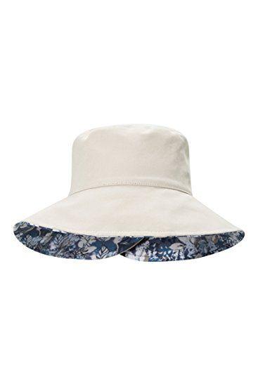8dbb1aff2 Mountain Warehouse Reversible Womens Printed Bucket Hat Beige. UK ...