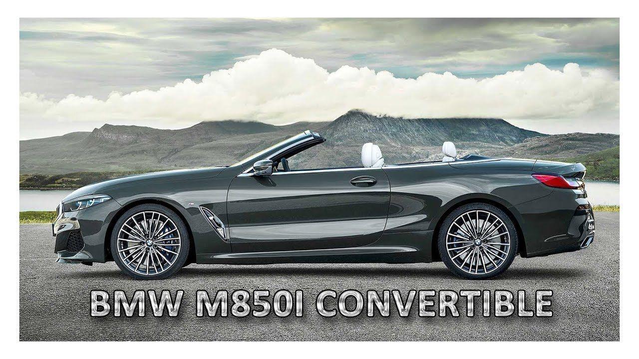 2020 Bmw M850i Xdrive Convertible Kabriolet Avtomobili Avtomobil