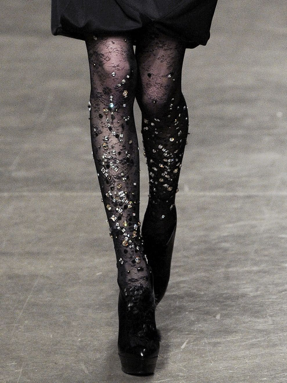 Beaded Tights Fashion Style Stockings