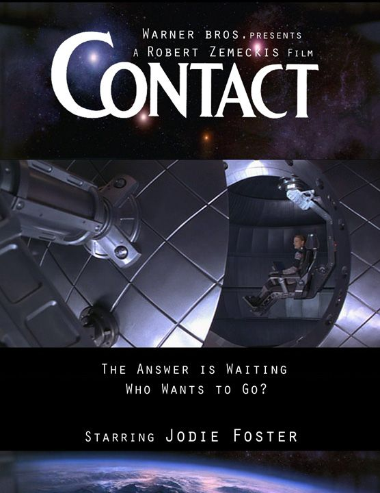 Contact Movie Poster By Diana Huang On Deviantart Contact Movie Really Good Movies Great Movies To Watch