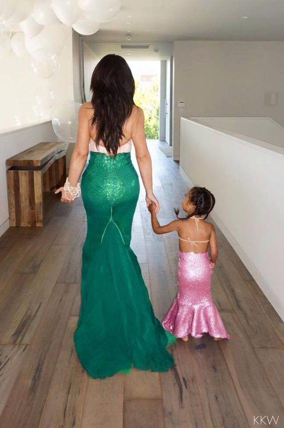 Vestidos de noche para madre e hija
