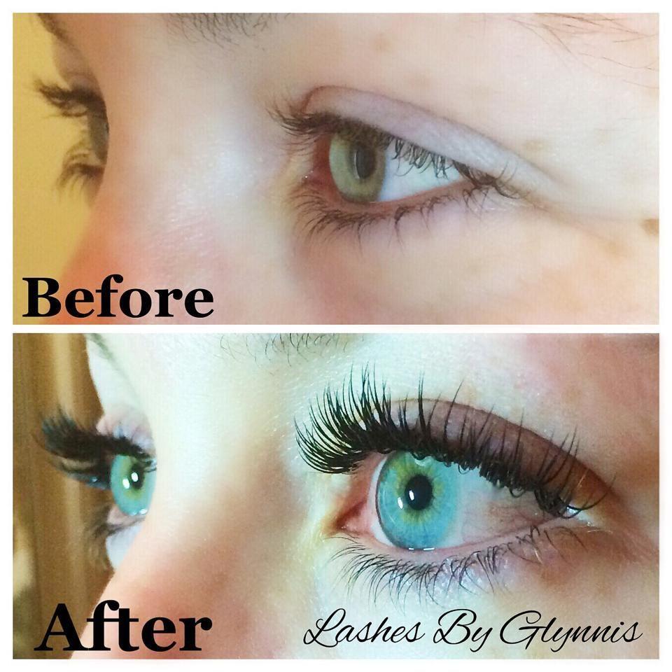 Before and After #EyelashExtensionsDiy | Eyelash ...