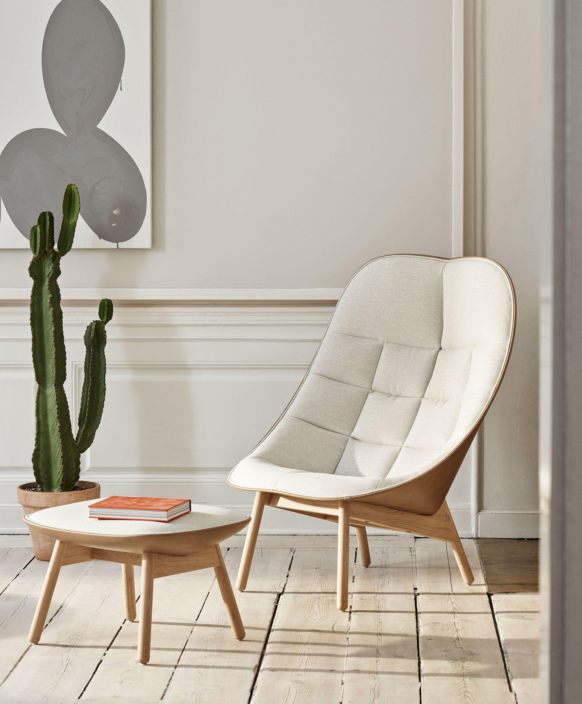 Uchiwa Lounge Chair   Contemporary lounge chair, Scandinavian ...