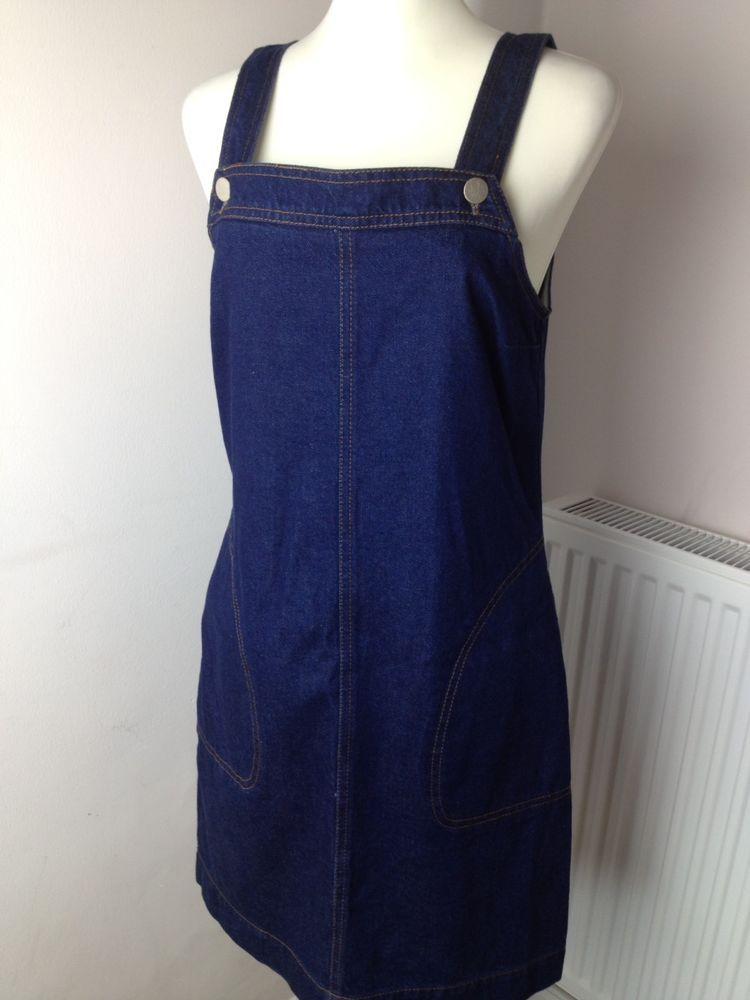 Denim Dress Dorothy Perkins Uk 10 Womens Summer Dress Dark Blue Summer Dresses For Women Denim Dress Summer Dresses