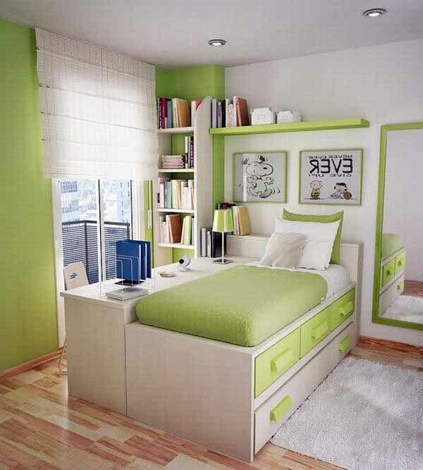 Apple Green Small Bedroom Remodel Small Bedroom Decor Small Room Design