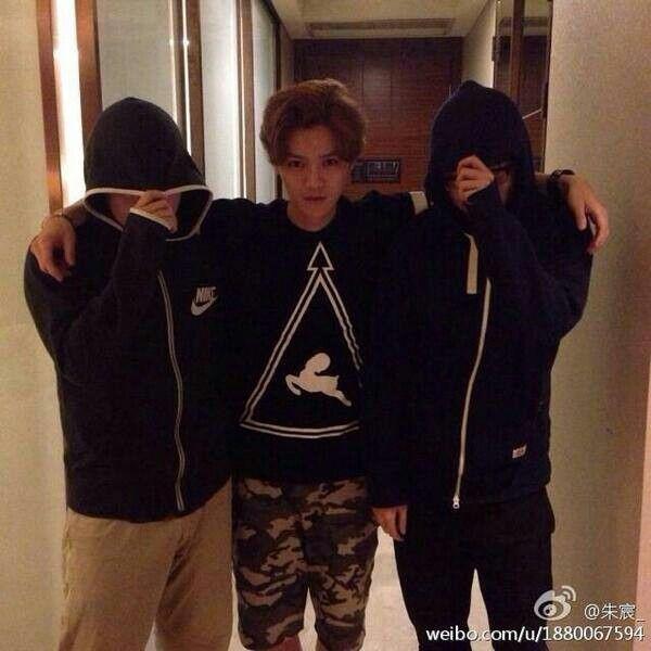 Luhan weibo update