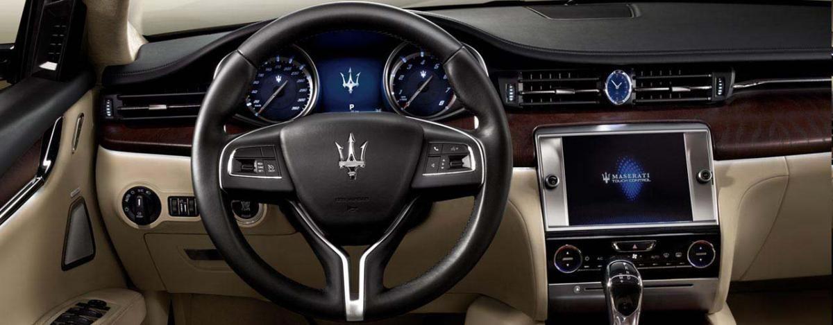 Maserati Quattroporte Gts Car Dashboard Cars Interior Design