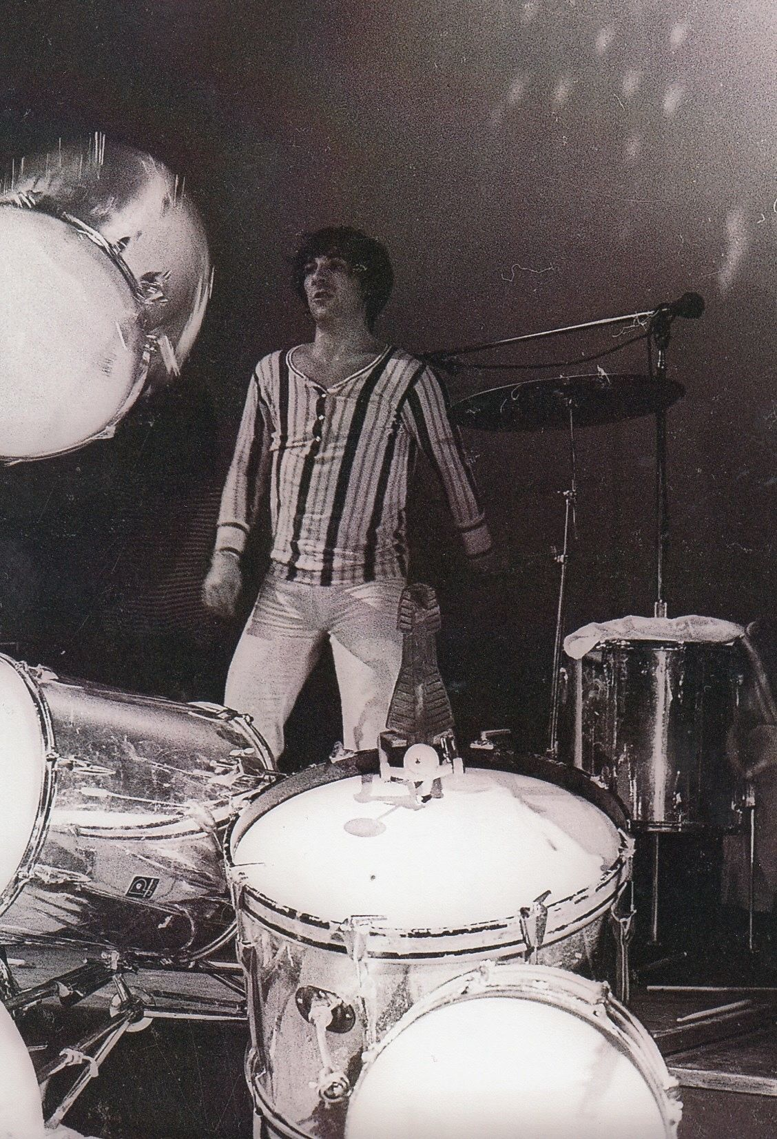 Keith Moon Destroys His Drum Kit Fillmore East Nyc May 16th 1969