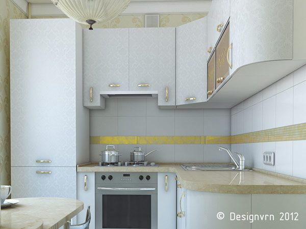 Дизайн небольшой кухни проекты