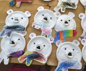 polar bear craft and art ideas funnycrafts winter 2017