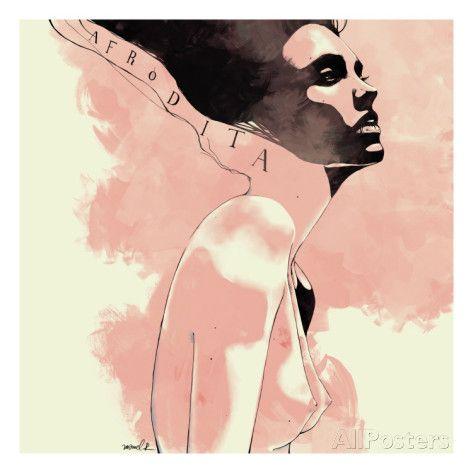Afrodita Art Print