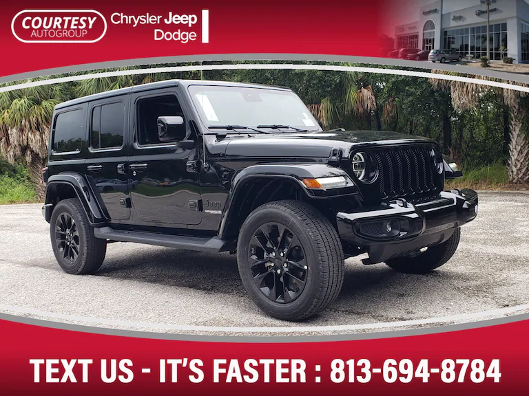 New 2020 Jeep Wrangler Unlimited High Altitude 4x4 For Sale Tampa Fl Jeep Wrangler Unlimited Jeep Wrangler Jeep