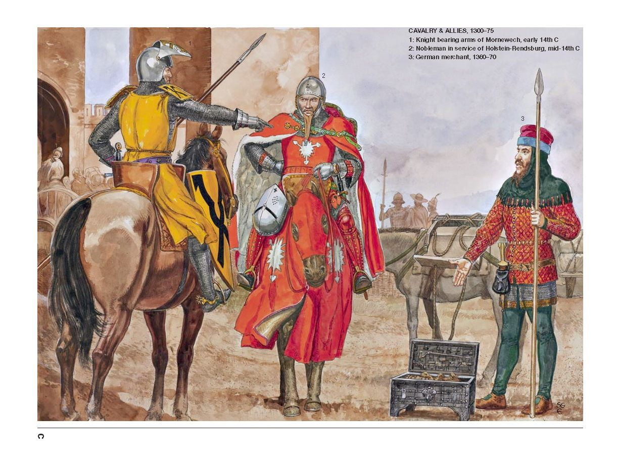 The Portuguese In The Age Of Discovery C 1340 1665 By: Cavalry & Allies,1300-75 1:Knight Bearing Arms Of Momewech