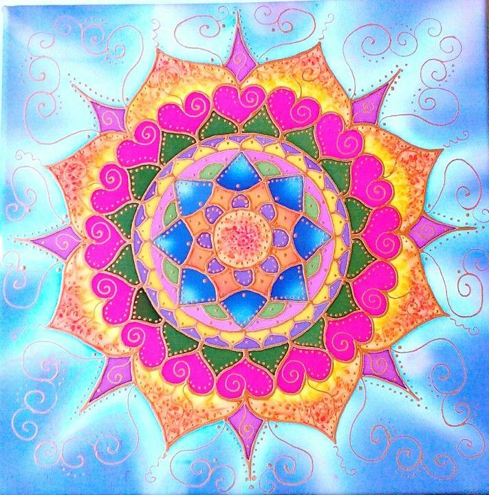 Personal Silk Mandala