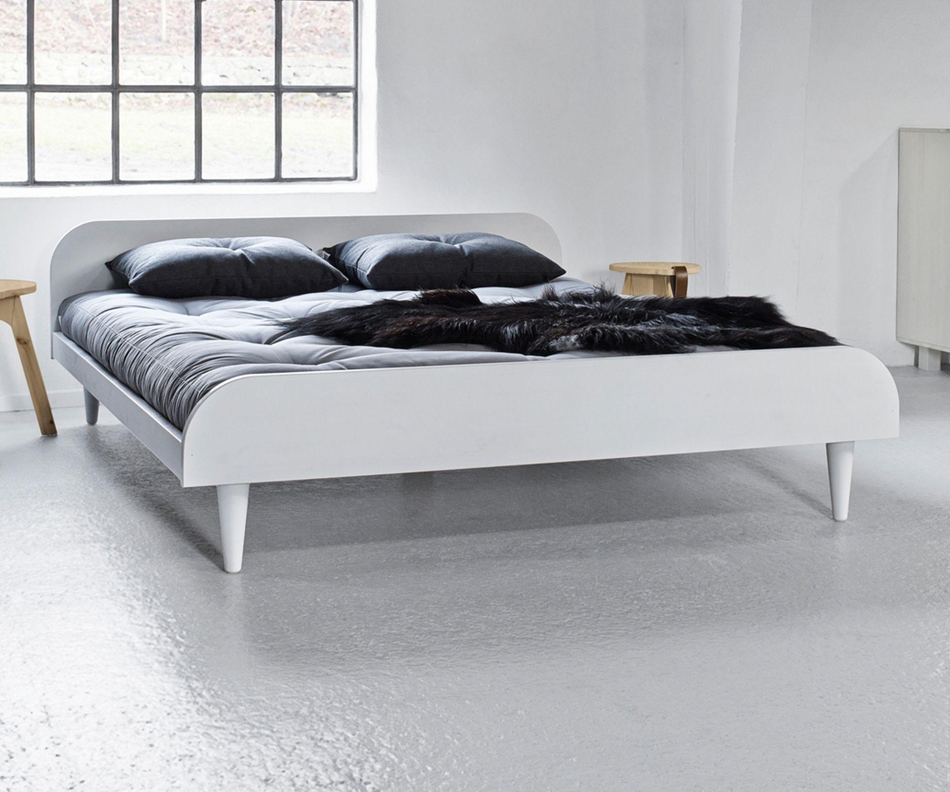 Bett Aus FSC  Zertifiziertem Holz. Perfekt Für Schlafzimmer Im  Skandinavischen Design #scandinaviandesign #