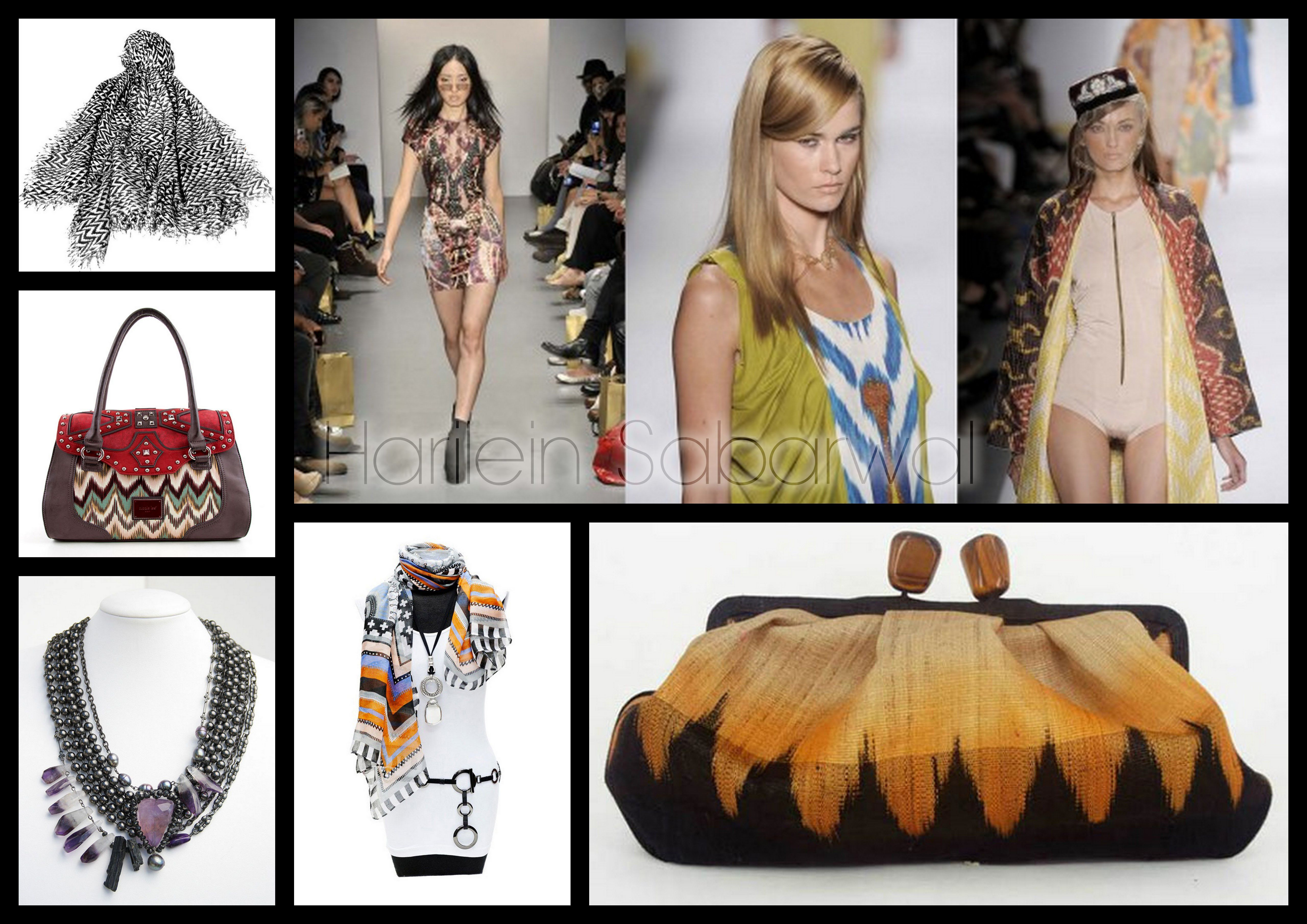Trend Accessories: Tribal Prints - S/S 2012