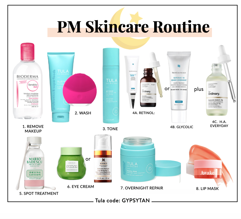 How to Layer Skin Care Printable Guide Order to Apply