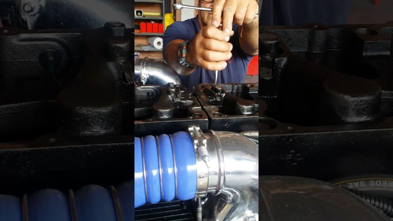 Calibración de freno motor en funcionamiento, Motor N14 Cummins